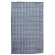 Alair Rug, 5x8'-blue, Ivory