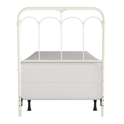 Jocelyn Twin Metal Headboard, Soft White