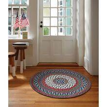 Wanderer Global Blue Braided Rugs
