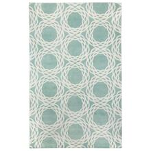 Oxford Seafoam Ivory - Rectangle - 5' x 8'
