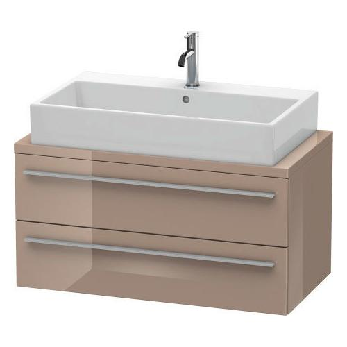 Duravit - Vanity Unit For Console Compact, Cappuccino High Gloss (lacquer)