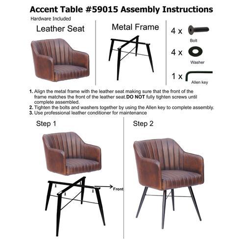 Howard Elliott - Houston Leather Chair