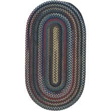 Yorktowne Navy Braided Rugs