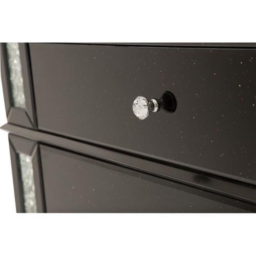 Accent Storage Chest - 5 Drawer (black)