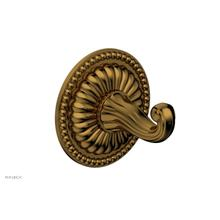 GEORGIAN & BARCELONA Robe Hook KPG10 - French Brass