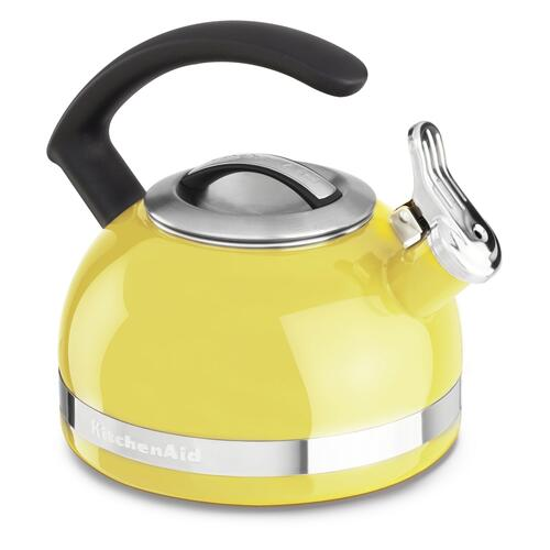 2.0-Quart Stove Top Kettle with C Handle Citrus Sunrise
