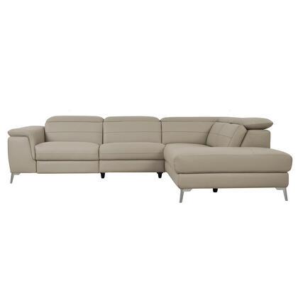 2-Piece Power Sectional with Right Chaise