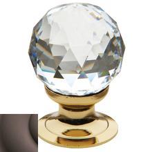 Venetian Bronze Swarovski Crystal Cabinet Knob
