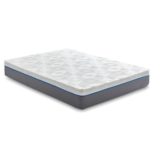 "Renue 14"" Medium Firm Memory Foam Mattress, Twin"