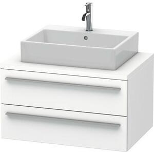 Vanity Unit For Console, White Matte