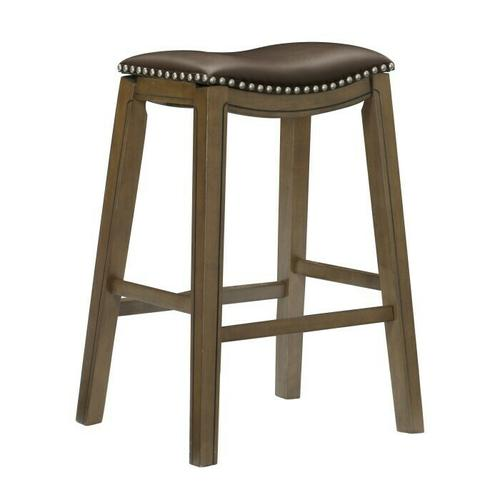 29 Pub Height Stool, Brown