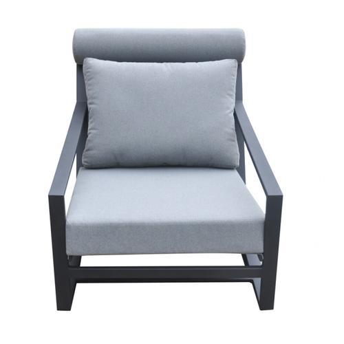 VIG Furniture - Renava Boardwalk Outdoor Grey Lounge Chair Set