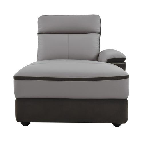 Gallery - 5-Piece Modular Power Reclining Sectional with Right Chaise