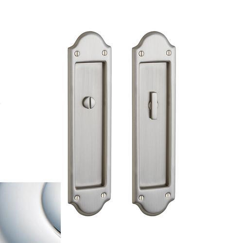 Baldwin - Polished Chrome PD016 Boulder Pocket Door
