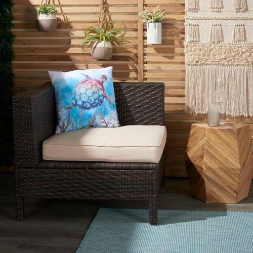 """Outdoor Pillows Bj601 Multicolor 18"""" X 18"""""""