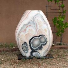 Polished Pebble Fountain Multi Color Onyx