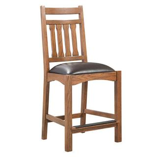 Oak Park Narrow Slat Stool