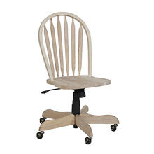 113D2 Windsor Arrowback Desk Chair