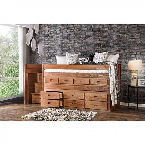 Furniture of America - Cleo Twin Captain Bed