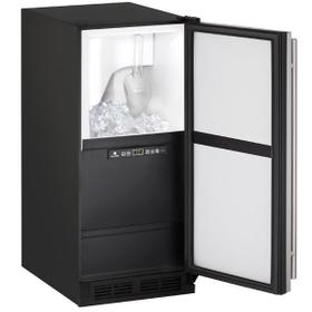 "15"" Clear Ice Machine With Stainless Solid Finish, Yes (115 V/60 Hz Volts /60 Hz Hz)"