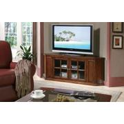 ACME Malka Corner TV Stand - 48618 - Oak Product Image