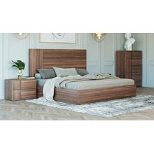 Product Image - Nova Domus Asus - Italian Modern Walnut Bed