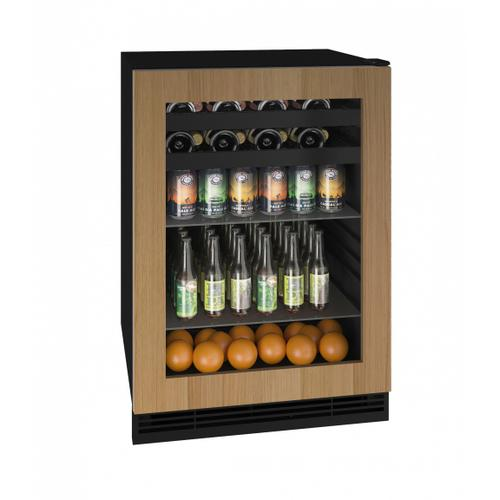 "Hbv124 24"" Beverage Center With Integrated Frame Finish (115v/60 Hz Volts /60 Hz Hz)"