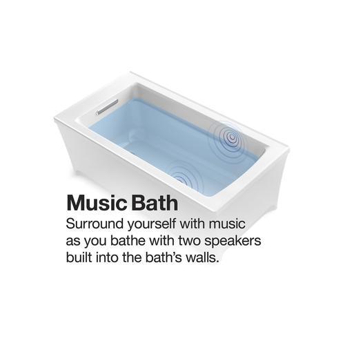 """Biscuit 60"""" X 36"""" Freestanding Bath"""