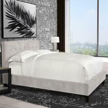 JODY - PORCELAIN Upholstered Bed Collection (Natural)