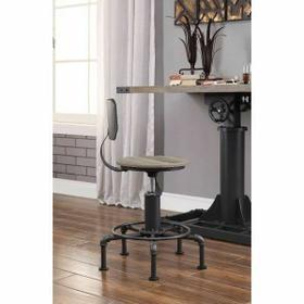 ACME Baara Chair - 22047 - Natural & Sandy Gray