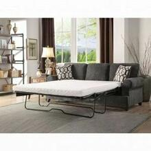 ACME Alessia Sofa w/Sleeper (Queen) - 52825 - Dark Gray Chenille