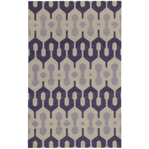Capel Rugs - L'Alhambra Mulberry Lilac - Rectangle - 7' x 9'