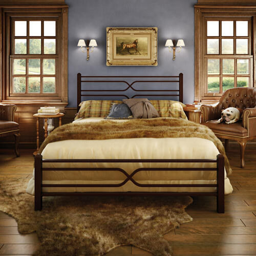 Timeless Regular Footboard Bed - King