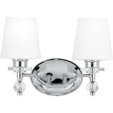 View Product - Hollister Bath Light in Polished Chrome
