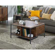 Modern Metal & Wood Lift-top Coffee Table