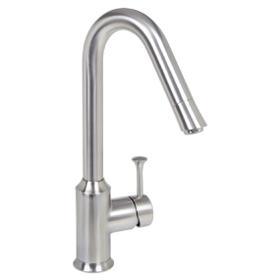 Pekoe 1-Handle High-Arc Kitchen Faucet  American Standard - Stainless Steel