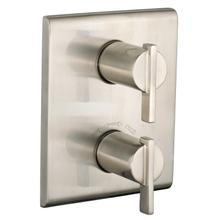 Times Square 2- Handle Thermostat Trim Kit - Brushed Nickel
