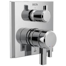 Chrome 17 Series Integrated Diverter Trim - 3 Function Diverter