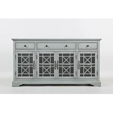 "Craftsman 60"" Media Unit - Earl Grey"