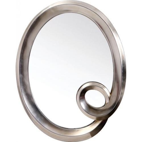 VIG Furniture - Modrest PU042 - Transitional Round Mirror