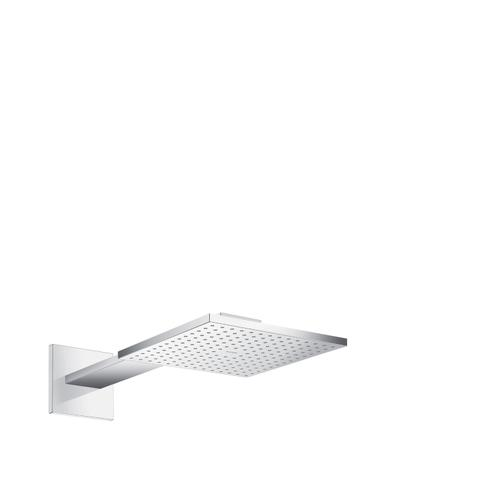 Chrome Overhead shower 250/250 1jet with shower arm