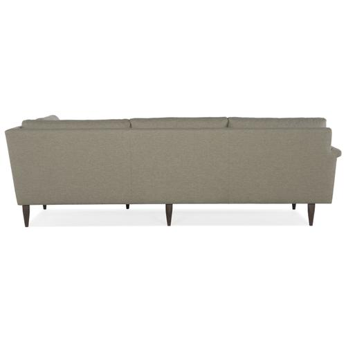 MARQ Living Room Pierce Left Arm Corner Sofa