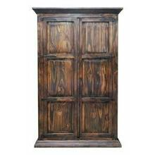 View Product - Med. Wax Twin Armoire W/ Hideaway Bed