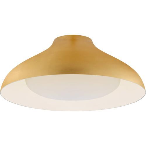AERIN Agnes LED 18 inch Gild Flush Mount Ceiling Light