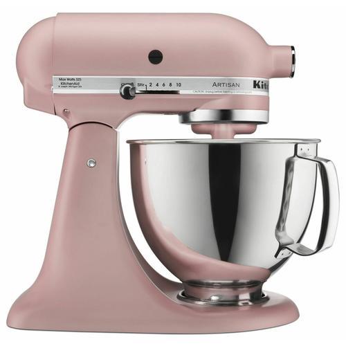 KitchenAid - Artisan® Series 5 Quart Tilt-Head Stand Mixer - Matte Dried Rose