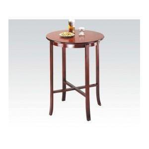 "Acme Furniture Inc - Oak Bar Table, 30""d X 40""h @n"
