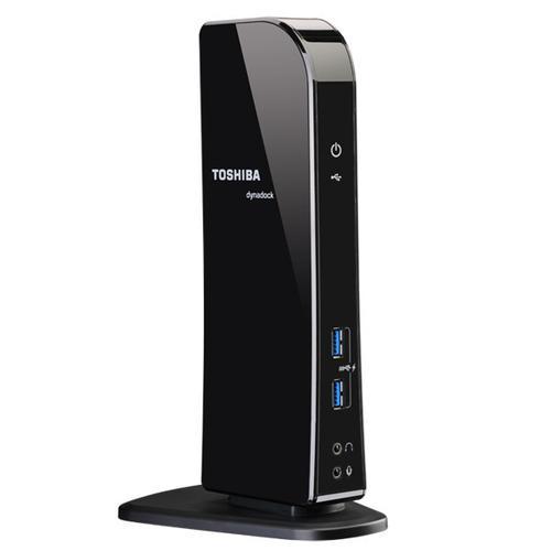 Toshiba - dynadock® U3.0 Universal USB 3.0 Docking Station