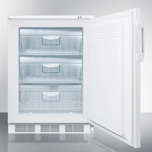 Commercial Built-in Medical All-freezer Capable of -25 C Operation With Front Lock; Door Accepts Full Overlay Panels