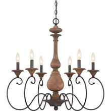 View Product - Auburn Chandelier in Rustic Black