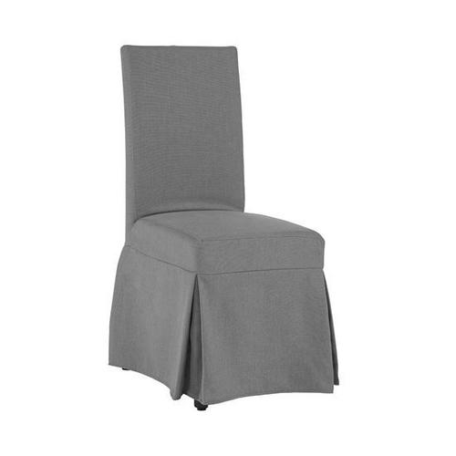 Gallery - Slipcover Accent Chair - Gray Finish